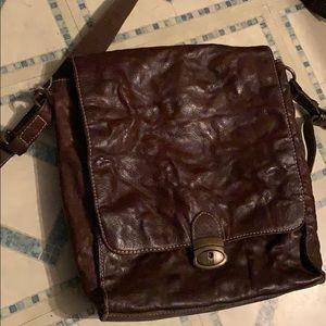 Vintage Wilson's leather bag